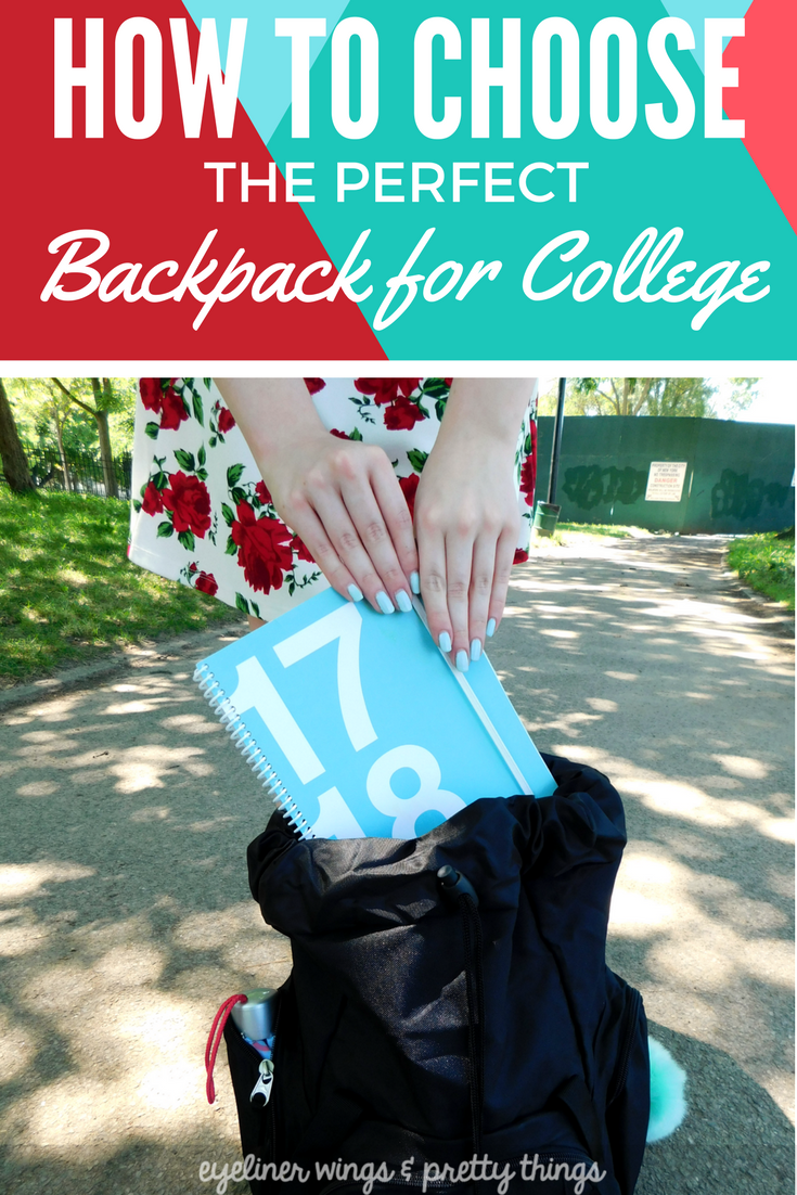 How to Choose The Perfect Backpack for College ( & What's in Mine)